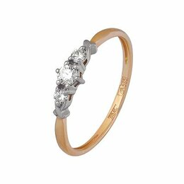 Кольца и перстни - 11034626 Кольцо (Au 585) (16.0) Алмаз-Холдинг, 0