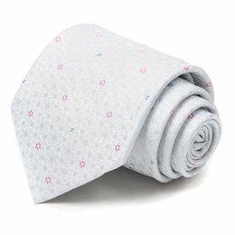 Галстуки и бабочки - Красивый мужской жаккардовый галстук Celine 63585, 0