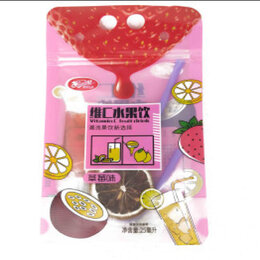 """Ингредиенты для приготовления напитков - Растворимый напиток """"Xinming Vitamin C fruit drink"""" ассорти вкусов 25 мл., 0"""