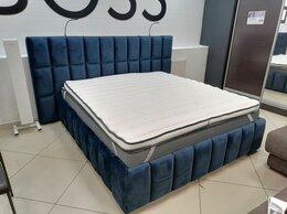 Кровати - Кровать с выдвижными тумбами и банкеткой, 0
