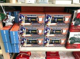 Игровые приставки - SEGA Genesis Gopher 2 портативная (500 игр), 0
