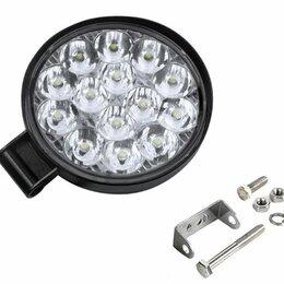 Электрика и свет - Фара передняя LED 9-32V 40W круглая, 0