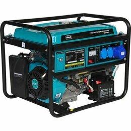 Электрогенераторы - Бензиновый генератор Wert G 8000ЕD 220 В 6 кВт…, 0