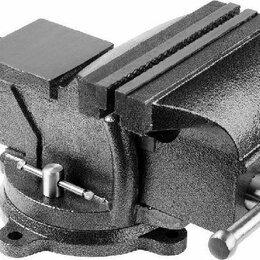 Тиски - Тиски слесарные губки от 25 - 300 мм, поворотные, с наковальней, 0