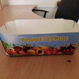 Прочие хозяйственные товары - Картонная упаковка для ягод, 0