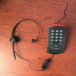 Проводные телефоны - Телефон с гарнитурой Plantronics T10, 0
