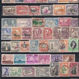 Марки - Британская Империя коллекция , 0