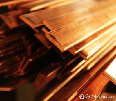 Шина медная 100х5 мм М1М ГОСТ 434-78 по цене 425₽ - Металлопрокат, фото 0