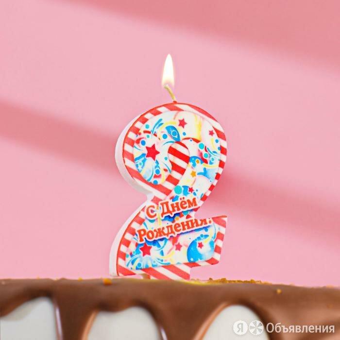 Свечи в торт Праздничные 2 по цене 90₽ - Упаковочные материалы, фото 0