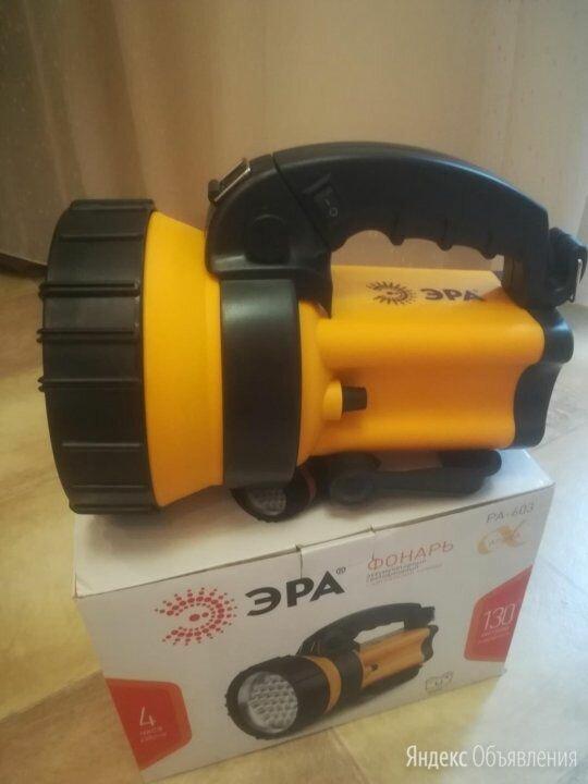 Фонарь-прожектор ЭРА PA-603 Альфа по цене 1700₽ - Фонари, фото 0
