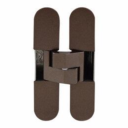 Межкомнатные двери - Петля дверная AGB E30200.02.22 ECLIPSE 3.0 античная бронза (4 накладки в комп..., 0