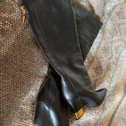 Сапоги - Женские сапоги натуральная кожа размер 39, 0