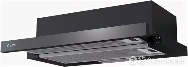 Кухонная вытяжка выдвижная LEX HUBBLE 500 BLACK по цене 5990₽ - Вытяжки, фото 0