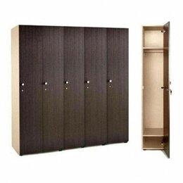 Мебель для учреждений - Шкаф шкафчики для раздевалки ЛДСП Производство, 0