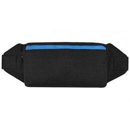 Сумки - Поясная сумка Street Bags SB-005-NN Черный с голубым кантом, 0