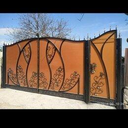 Заборы, ворота и элементы - Кованые ограждения ворота калитки черкесск , 0