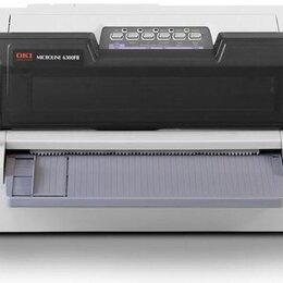 Матричные принтеры - Матричный принтер oki microline ML 6300 FB-SC, 0