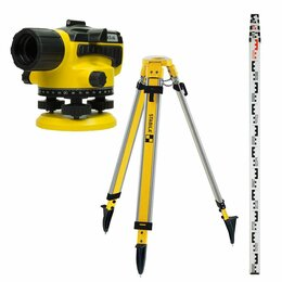 Измерительные инструменты и приборы - Оптический нивелир, 0