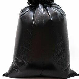 Мешки для мусора - Мешки для мусора MIRPACK 120 литров, 10 штук,100 мкм, 70*110 см,серия Добрыня, 0