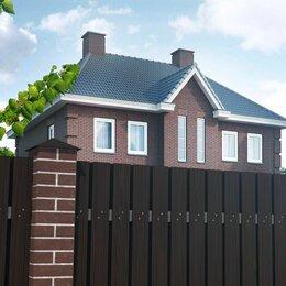 Заборчики, сетки и бордюрные ленты - Забор  ДПК вертикальный вентилируемый HILST 2х2, 0