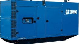 Электрогенераторы и станции - Электростанция дизельная с жидкостным охлаждением SDMO J 220K IV в звукоизоли..., 0
