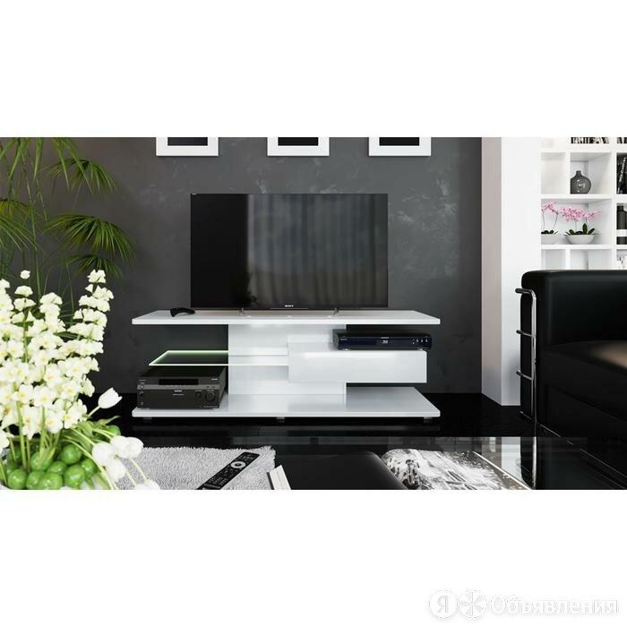 Тумба Diamond ТВ-1 460х1400х440 Белый глянец по цене 20699₽ - Тумбы, фото 0