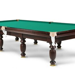 Столы - Бильярдный стол 10 фут Сланец 25 мм Сукно King, 0