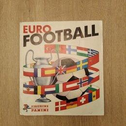 Спортивные карточки и программки - Panini Заполненный альбом Eurofootball 1976-1977, 0