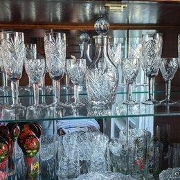 Бокалы и стаканы - Посуда, рюмки, бокалы из хрусталя, 0