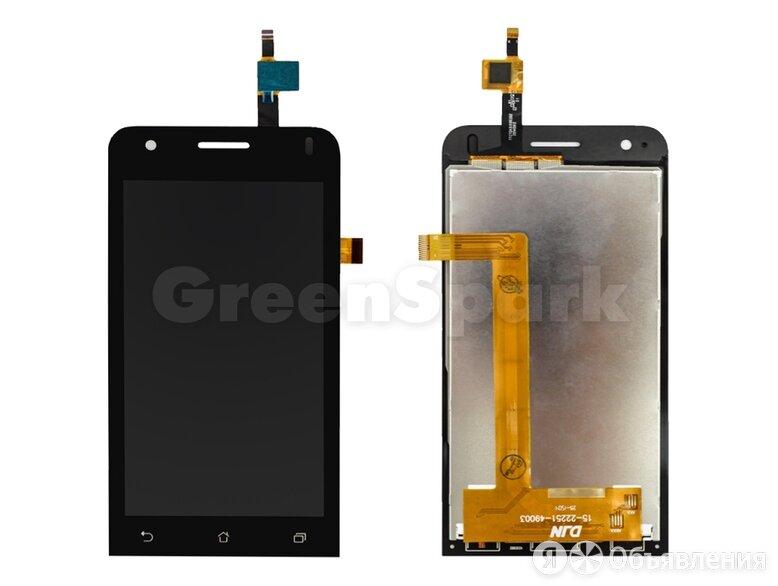 Дисплей для Asus ZenFone C (ZC451CG) + тачскрин (черный) по цене 450₽ - Дисплеи и тачскрины, фото 0