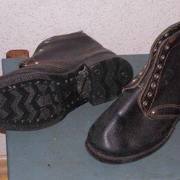 Обувь - Ботинки раблчие 40 кожа нов., 0