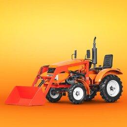 Мини-тракторы - Минитрактор Батыр КПФ-15 PRO с фронтальным погрузчиком, 0