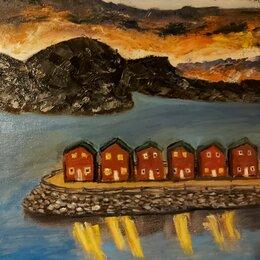 Картины, постеры, гобелены, панно - Картина маслом Норвегия, 0