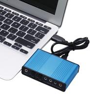 Звуковые карты - Внешняя звуковая плата USB, CM6206, 5.1, S/PDIF, 0