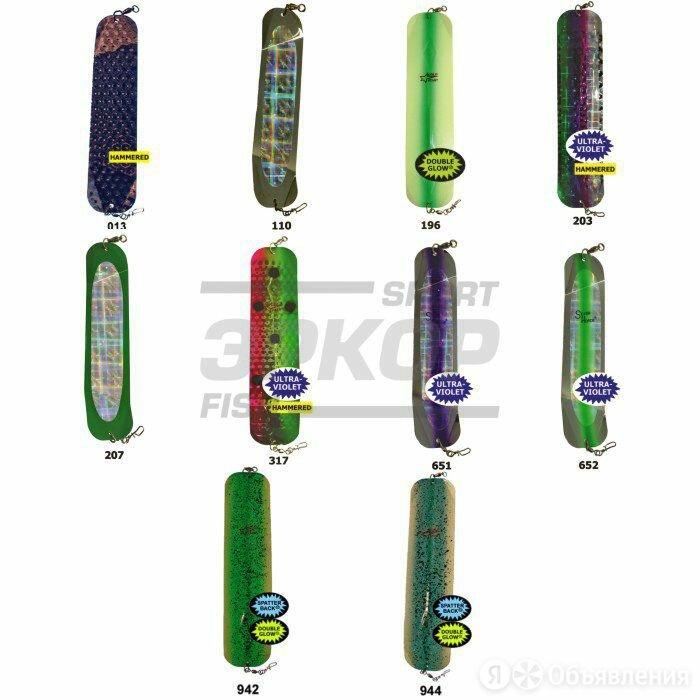 Флешер Silver Horde Double B Flasher №12 (х10) по цене 1900₽ - Наборы инструментов и оснастки, фото 0