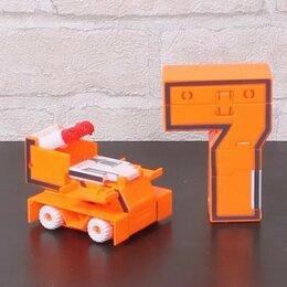 Игровые наборы и фигурки - Цифры трансформеры, 0