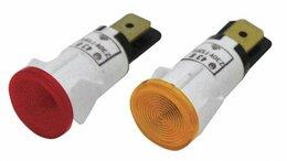 Запчасти и расходные материалы - Лампа сигнальная желтая, 0