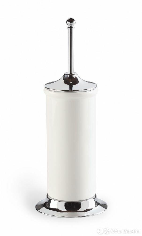 Напольный керамический ёрш с металлическим основанием Stil Haus Idra, цвет хр... по цене 9100₽ - Мебель для кухни, фото 0