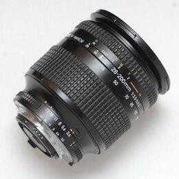 Объективы - Nikon AF Nikkor 28-200mm f/3.5-5.6 D, 0