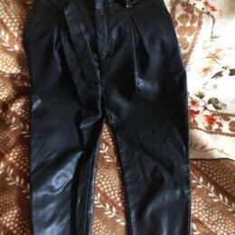 Брюки - Кожаные  брюки, 0