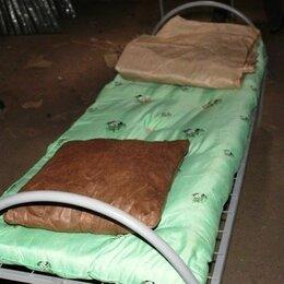 Кровати - Кровати двухъярусные, одноярусные, постельные принадлежности в Пскове, 0
