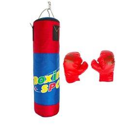 Тренировочные снаряды - Набор для бокса «Юный боксер»: груша, 2 перчатки, 0