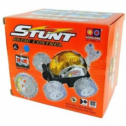 Радиоуправляемые игрушки - Радиоуправляемая машинка перевертыш Stunt, 0