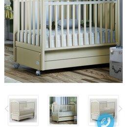 Кроватки - Детская кроватка с маятником. Матрас в подарок!, 0