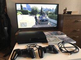 Игровые приставки - Sony Playstation 3 Slim на 320gb +2 Dualshock, 0