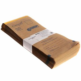 Расходные материалы - Пакеты бумажные самоклеящиеся «СтериТ» 90*230 мм (крафт 100шт), 0