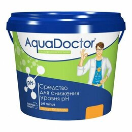 Химические средства - Средство для снижения уровня ph aquadoctor ph minus (1 кг), 0