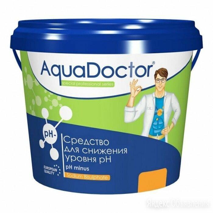 Средство для снижения уровня ph aquadoctor ph minus (1 кг) по цене 350₽ - Химические средства, фото 0