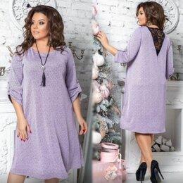 Платья - Свободное вечернее платье большого размера р-ры 54-64, 0