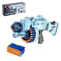 Игрушечное оружие и бластеры - Бластер - Апекс, стреляет мягкими пулями, работает от батареек, 0